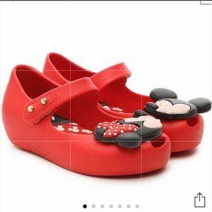 New Mini Melissa size 5 Disney Minnie and Mickey